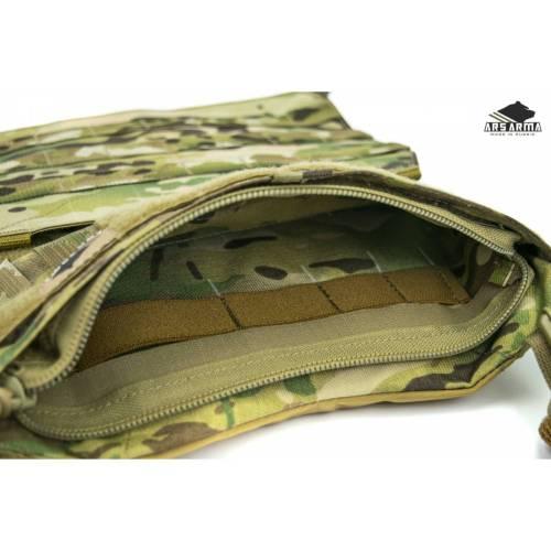 Zipper Mod body pocket insert - Ars Arma