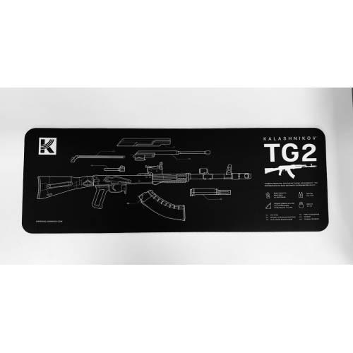 Gun Cleaning Mat - Kalashnikov